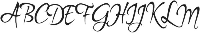 Kylets otf (400) Font UPPERCASE