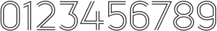 Kylie 4F Light otf (300) Font OTHER CHARS