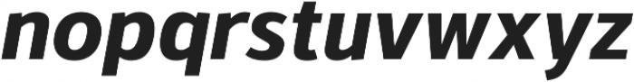 Kylo Sans Bold Italic otf (700) Font LOWERCASE