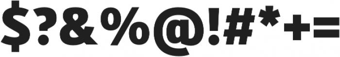 Kylo Sans ExtraBold otf (700) Font OTHER CHARS