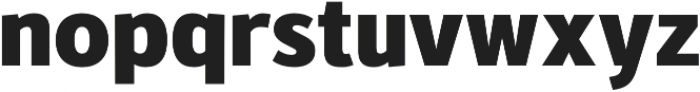 Kylo Sans ExtraBold otf (700) Font LOWERCASE