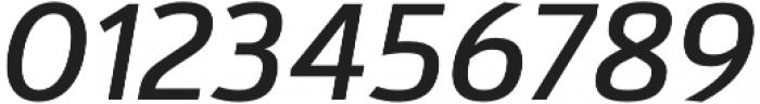 Kylo Sans Italic otf (400) Font OTHER CHARS