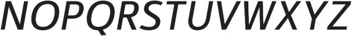 Kylo Sans Italic otf (400) Font UPPERCASE