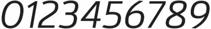 Kylo Sans Light Italic otf (300) Font OTHER CHARS