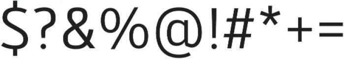 Kylo Sans Light otf (300) Font OTHER CHARS