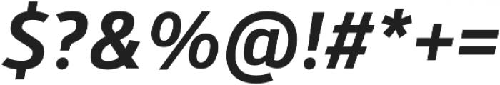 Kylo Sans Medium Italic otf (500) Font OTHER CHARS