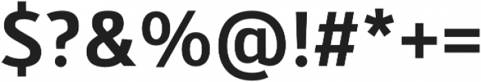 Kylo Sans Medium otf (500) Font OTHER CHARS