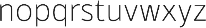 Kylo Sans Thin otf (100) Font LOWERCASE