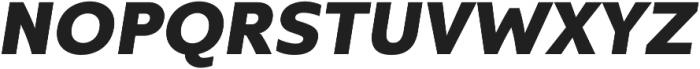 Kyrial Display Pro Black Italic otf (900) Font UPPERCASE