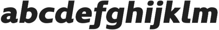 Kyrial Display Pro Black Italic otf (900) Font LOWERCASE