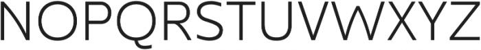 Kyrial Display Pro Light otf (300) Font UPPERCASE