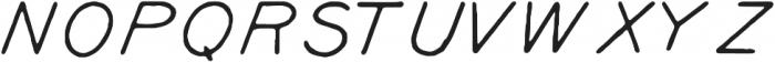 Kyril Regular otf (400) Font UPPERCASE