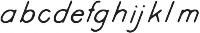 Kyril Regular otf (400) Font LOWERCASE