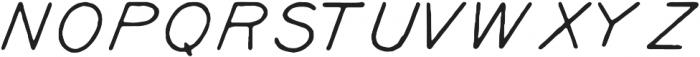 Kyril Regular ttf (400) Font UPPERCASE