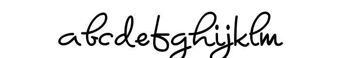 Kyanna Font LOWERCASE