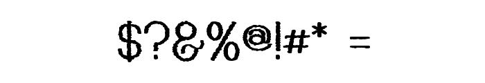 Kyiss M'ass Font OTHER CHARS