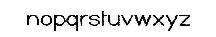 Kyiss M'ass Font LOWERCASE