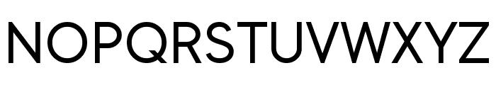 Kyooshi Gothic Font UPPERCASE