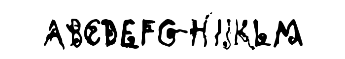 Kyoto Song Font LOWERCASE