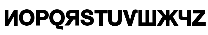 KyrillaSansSerif-Black Font UPPERCASE