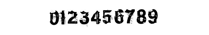 KyvadloBlues Font OTHER CHARS