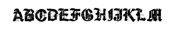 KyvadloBlues Font UPPERCASE