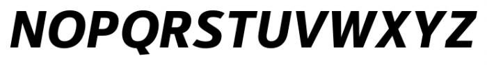 Kylo Sans Bold Italic Font UPPERCASE