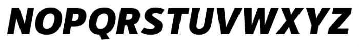 Kylo Sans Extra Bold Italic Font UPPERCASE