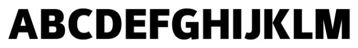 Kylo Sans Extra Bold Font UPPERCASE