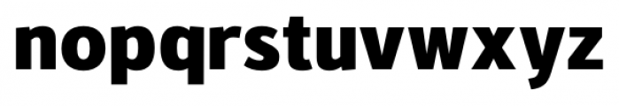 Kylo Sans Extra Bold Font LOWERCASE