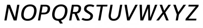 Kylo Sans Italic Font UPPERCASE