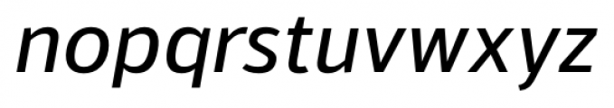 Kylo Sans Italic Font LOWERCASE