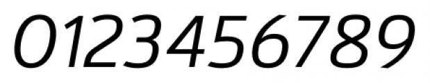 Kylo Sans Light Italic Font OTHER CHARS