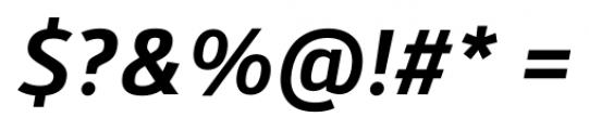 Kylo Sans Medium Italic Font OTHER CHARS