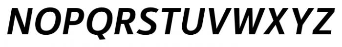 Kylo Sans Medium Italic Font UPPERCASE