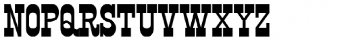 Kyhota One Font UPPERCASE