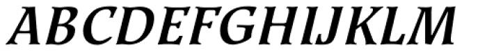Kyiv Bold Italic Font UPPERCASE