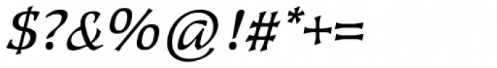 Kyiv Regular Italic Font OTHER CHARS