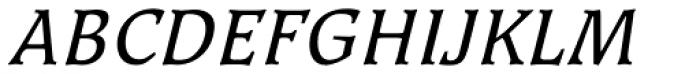 Kyiv Regular Italic Font UPPERCASE