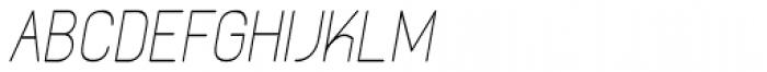 Kylemott Condense Oblique Font UPPERCASE