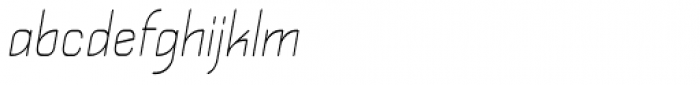 Kylemott Condense Oblique Font LOWERCASE