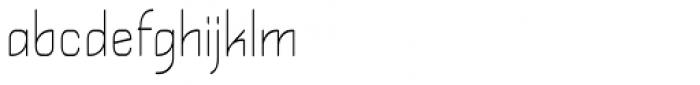 Kylemott Condense Font LOWERCASE
