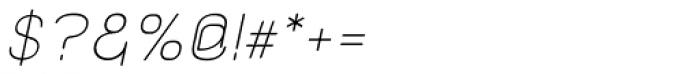 Kylemott Oblique Font OTHER CHARS