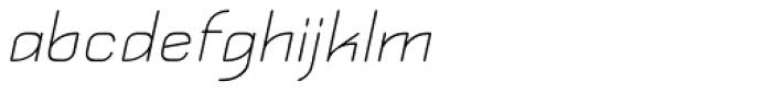 Kylemott Oblique Font LOWERCASE