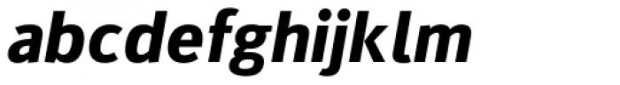 Kylo Sans Bold Italic Font LOWERCASE