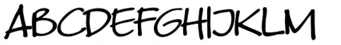 Kyoto Northern Regular Font UPPERCASE