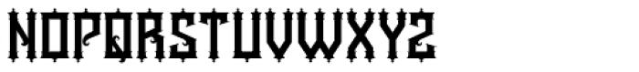 Kyouking Font UPPERCASE