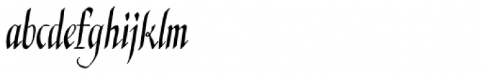 Kyrenia Pro TTW Font LOWERCASE