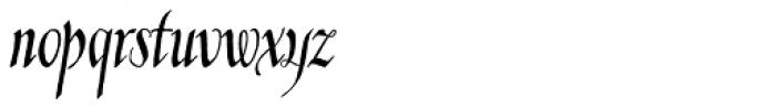 Kyrenia Quill TTW Font LOWERCASE