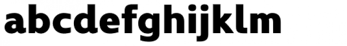 Kyrial Display Pro Black Font LOWERCASE